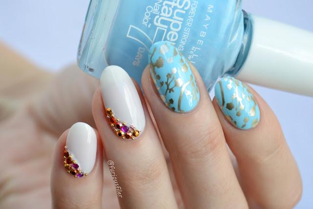 furious filer rhinestones beads oriental asian floral bling