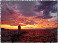 Zalazak sunca, Postira slike otok Brač Online