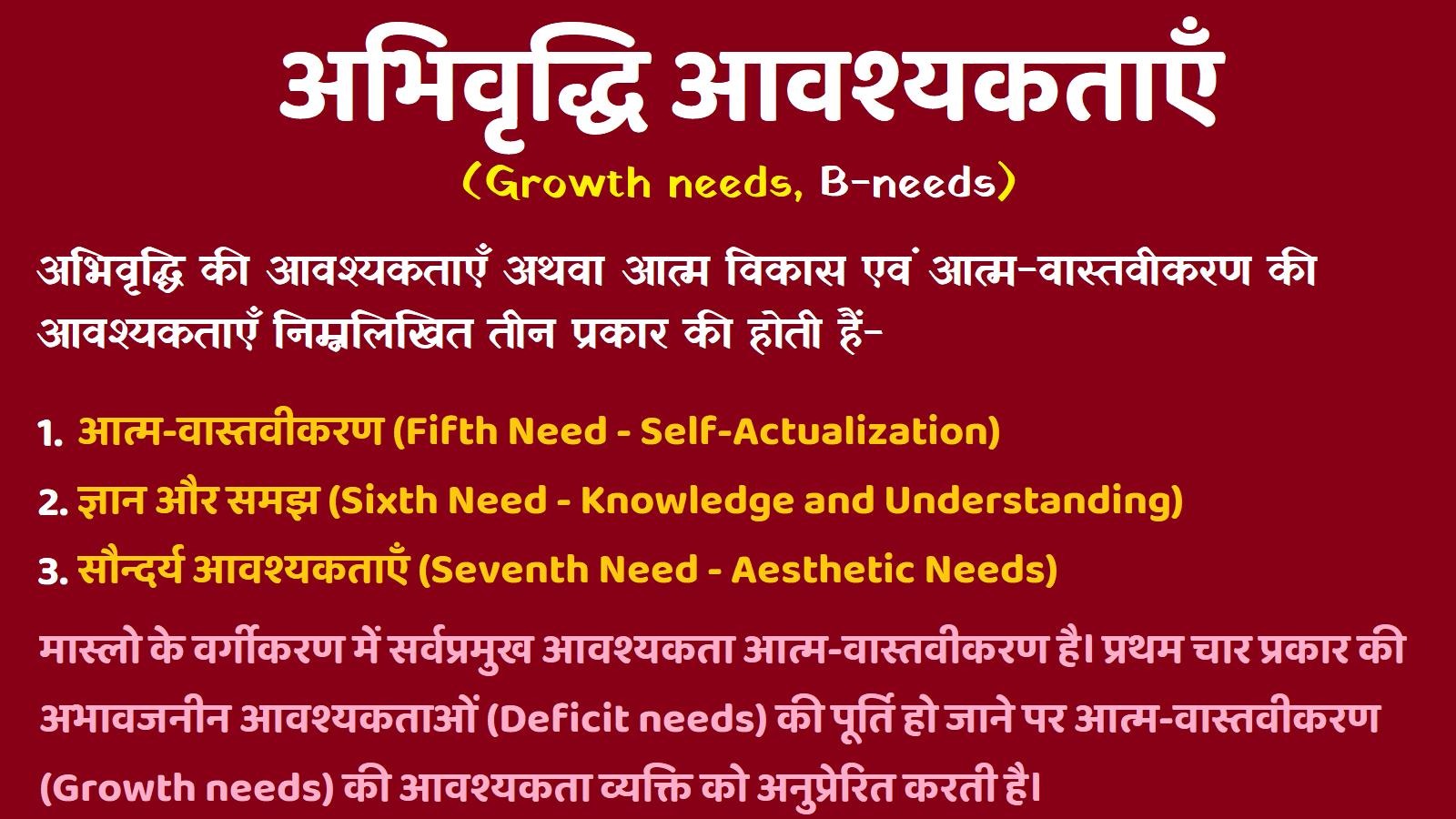 Abhivriddhi Avashyakta