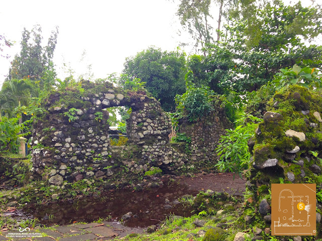 Mamposteria or rubblework masonry The Ruins of Cagsawa Church in Daraga [Architectural Heritage in Albay]