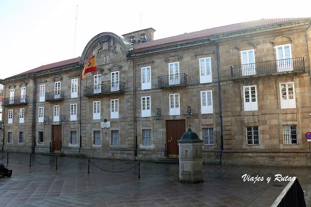 Palacio de la Capitanía General de A Coruña.