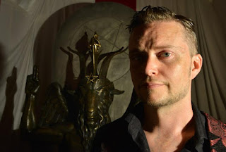 Satanic Temple spokesperson Lucien Greaves