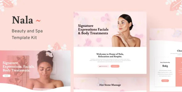 Beauty and Spa Template Kit