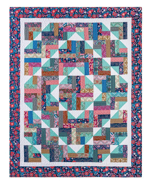 Summer Camp Quilt Free Tutorial designed by Jenny of Missouri Quilt Co