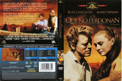 Carátula dvd: Los que no perdonan (1960) The Unforgiven