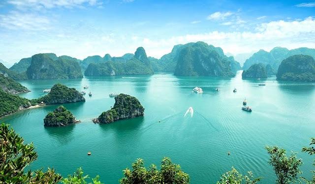 3. Ha Long Bay - Vietnam
