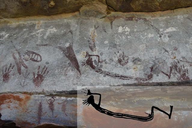 Australia's oldest rock painting is a kangaroo