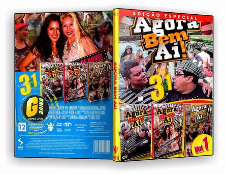 DVD Coleção - Agora Bem Ai! 3x1 -  ISO