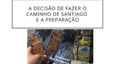 credenciais do peregrino de Santiago de Compostela