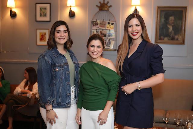 María Conchita Arcalá, Montserrat Bordas y Yubelkys Peralta