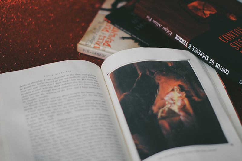 edgar allan poe #12mesesdepoe annacosta desafio de leitura coração delator tell-tale heart livro resenha poe