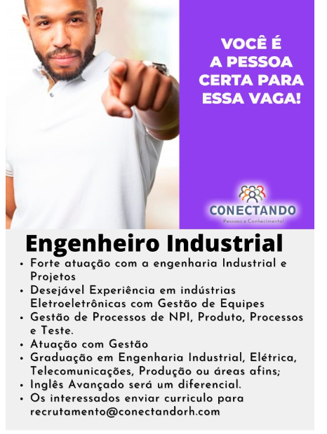 ENGENHEIRO INDUSTRIAL
