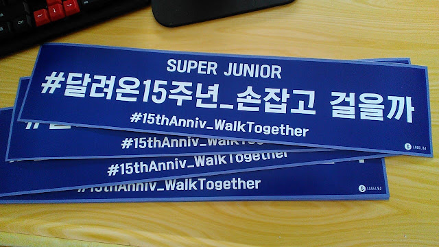 Cetak Poster Anniversary Super Junior