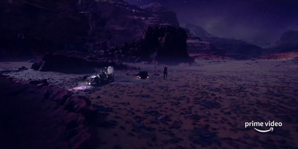 Exploring Mars in season 5 trailer of The Expanse