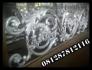 Terima pesanan Ornamen Alferon Besi Tempa dengan motif dan desai Khusus untuk pembuatan Pintu, Pagar, Gerbang, Railing, Balkon, Tangga Layang