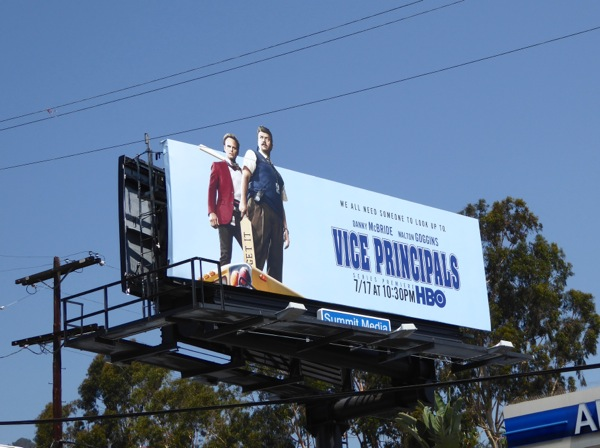 Vice Principals special extension billboard