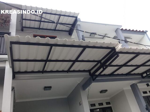 Jual Canopi Besi Atap Alderon Murah Berkualitas