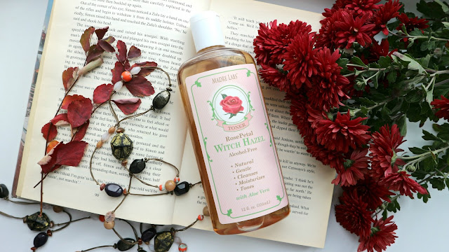 Madre Labs Witch Hazel Toner Rose Petal Alcohol Free Тонер для лица с гамамелисом и лепестками роз