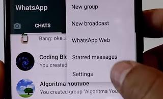 Cara Mengunci dan Menggunakan Fitur Sidik Jari Fingerprint Lock Whatsapp