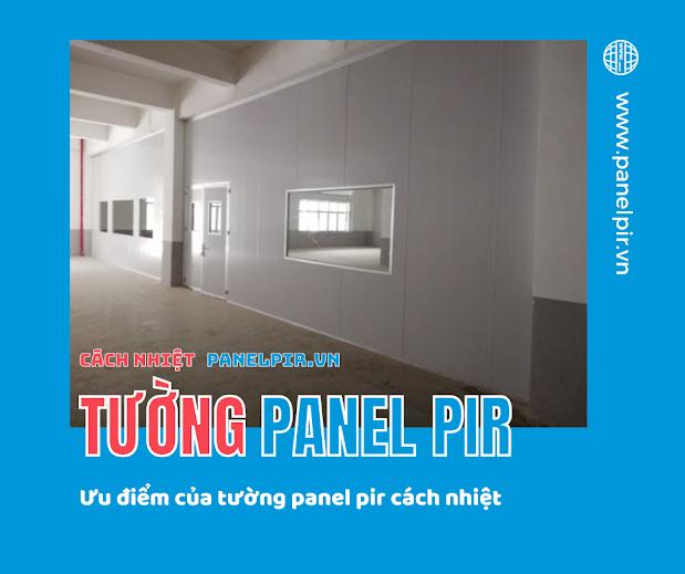 Tường panel pir là gì