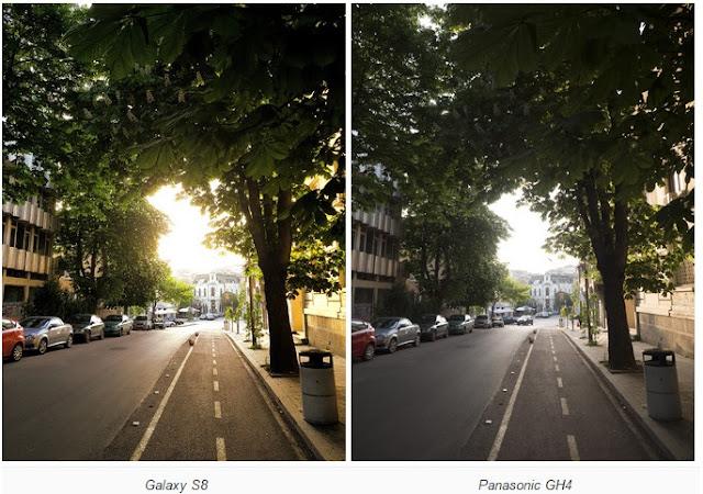 تنافس كاميرا هاتف جلاكسي S8 كاميرات DSLRs التي تبلغ تكلفتها 2000 دولار