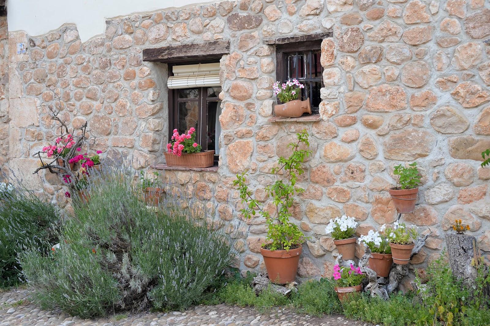 covarrubias burgos spain castile leon beautiful village