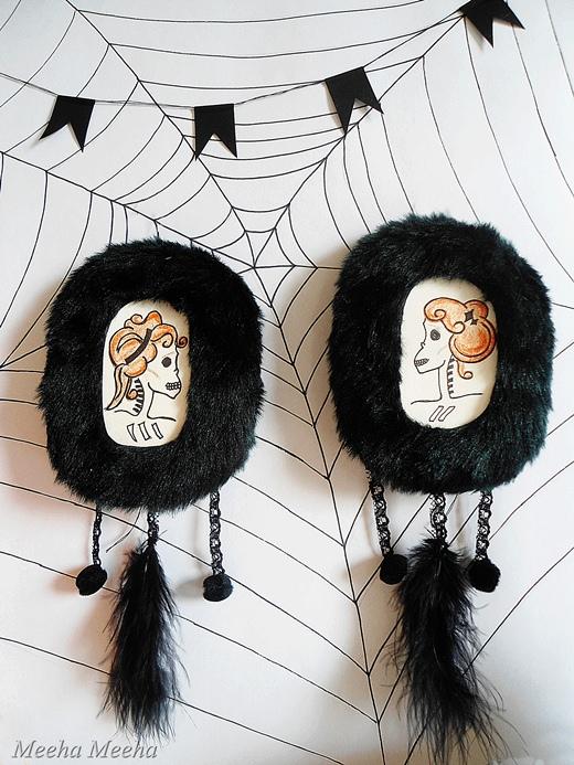 Halloween Miniatures From Headphones