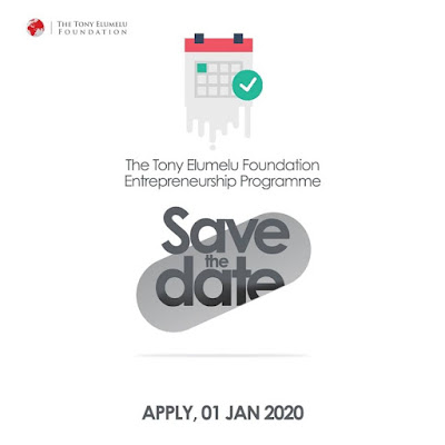 Tony Elumelu Foundation Entrepreneurship Programme 2020