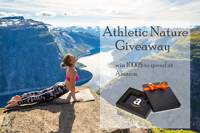 Enter the Athletic Nature Giveaway. Ends 3/22. Open WW