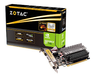 ZOTAC GeForce GT 730 4GB DDR3 ZONE Edition Graphics Card with GeForce Experience