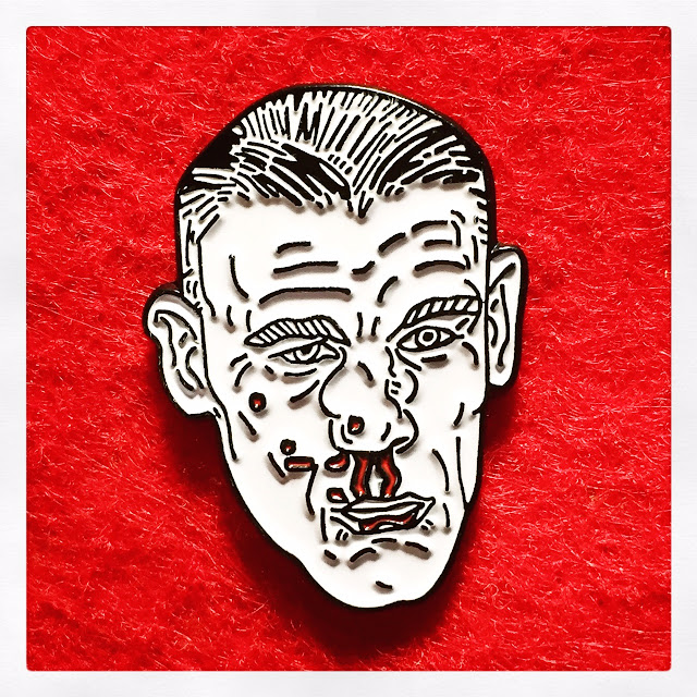 BROKEN FACE Pin