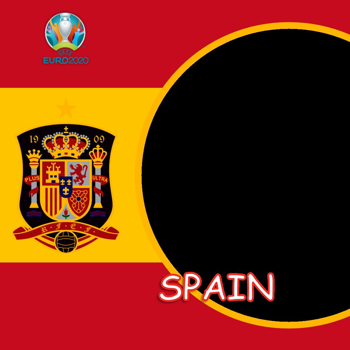 Template Background Bingkai Twibbon Spanyol Euro 2020 - Spain Euro 2021