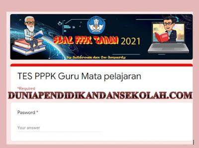 Soal Soal PPPK