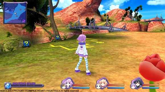 Hyperdimension Neptunia Re Birth1 PC Full Version Screenshot 3