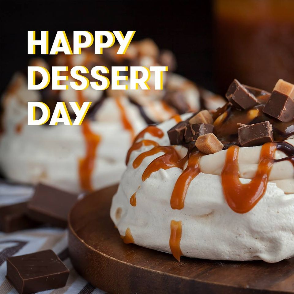 National Dessert Day Wishes for Instagram