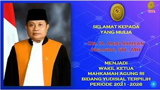 Ketua Dan Wakil Ketua Beserta Hakim Tinggi Pengadilan Tinggi Agama Palembang Mengikuti Dan Menyaksikan Sidang Paripurna Khusus Pemilihan Wakil Ketua Yudisial Mahkamah Agung Republik Indonesia Secara Virtual