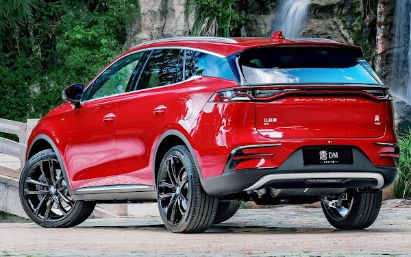 BYD Tang - SUV elétrico chega ao Brasil em 2022