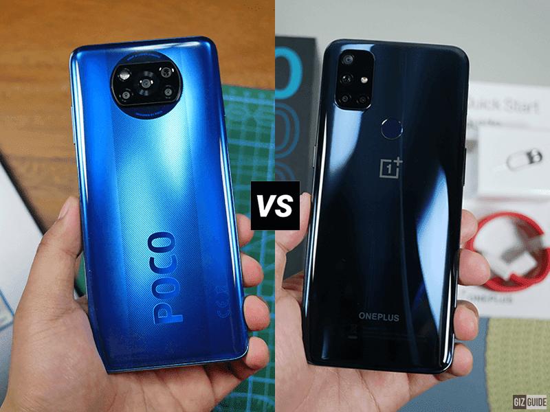 OnePlus Nord N10 5G vs POCO X3 NFC Specs Comparison