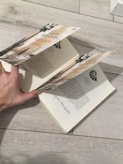 jeden ze szczytów książkowego snobizmu: podwójny egzemplarz, podwójny podpis, a jak... fot. paratexterka ©