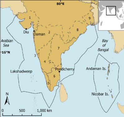 India's exclusive economic zone