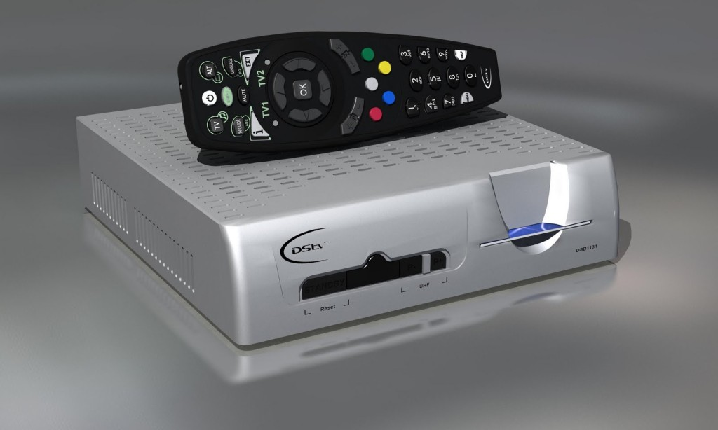 how to set up dstv decoder