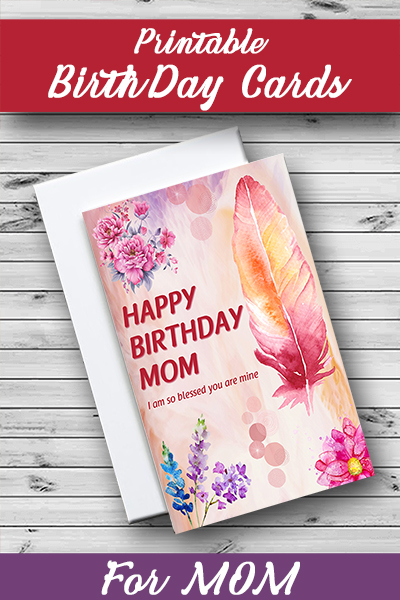 birthday cards for mom