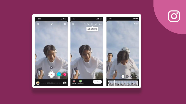 Instagram launches new Boomerang features