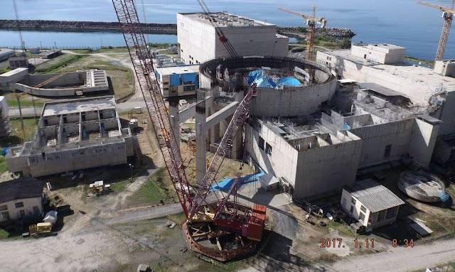 Angra recebe módulos para armazenar combustível nuclear usado
