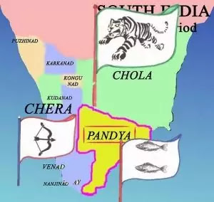 Sangam Age Political Map