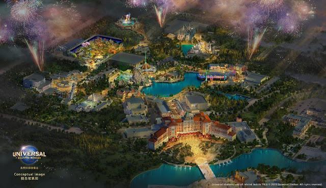 Universal Studios Beijing New Concept Art 2019