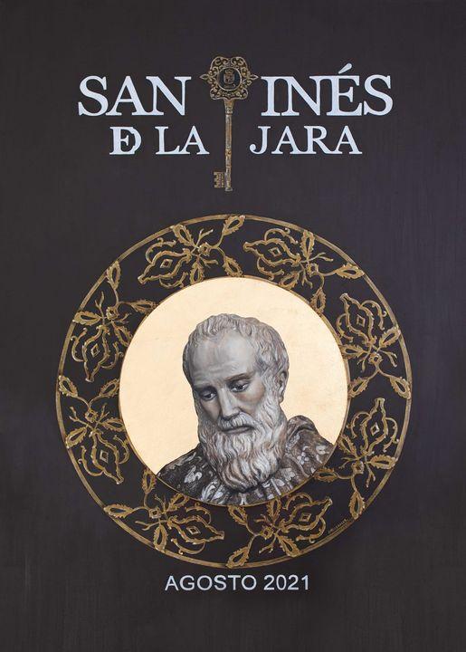 Cartel de Hermandad de San Ginés de la Jara de Sabiote (Jaén) 2021
