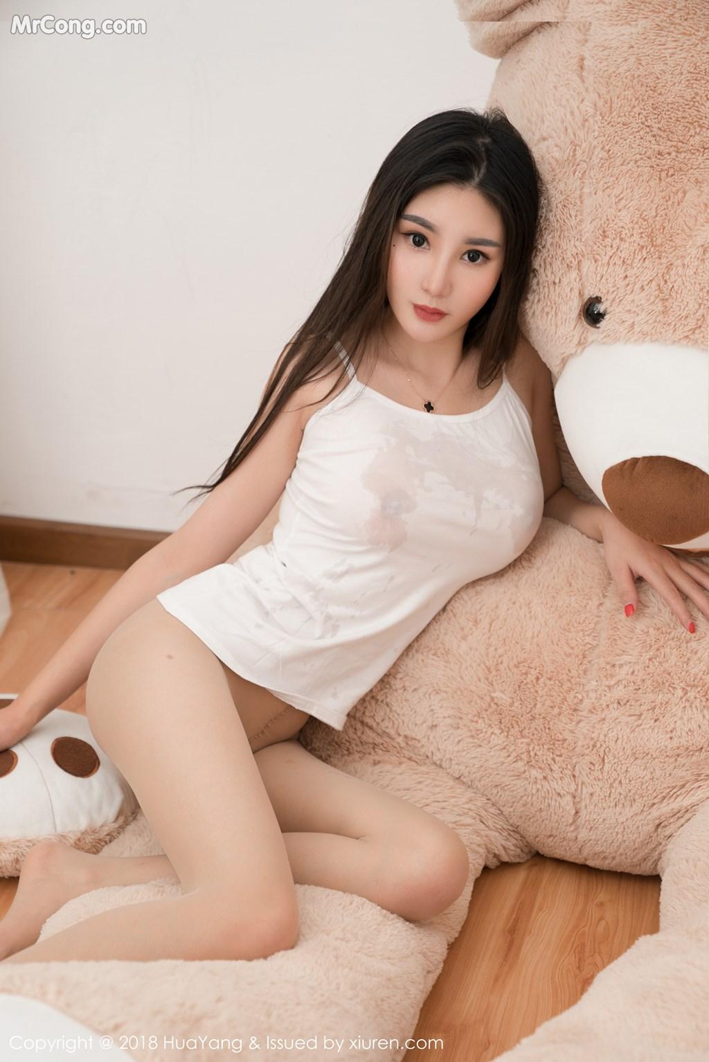 Image HuaYang-2018-03-02-Vol.034-Xiao-Tian-Xin-Candy-MrCong.com-033 in post HuaYang 2018-03-02 Vol.034: Người mẫu Xiao Tian Xin (小甜心Candy) (41 ảnh)