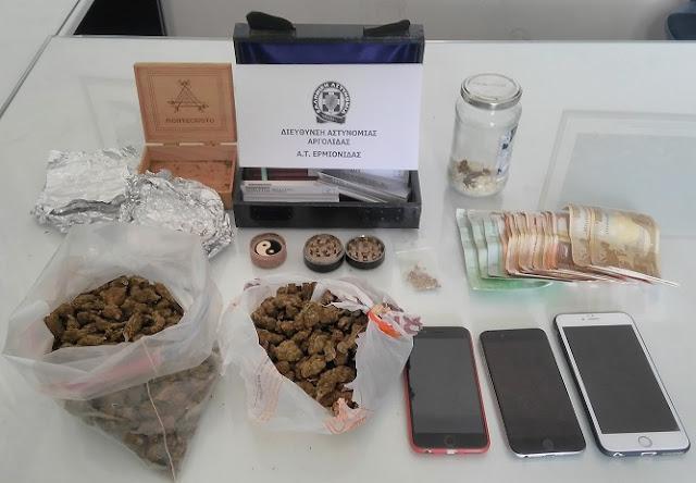 Συνελήφθησαν δύο άτομα για ναρκωτικά στην Αργολίδα