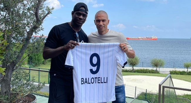 Adana Demirspor'un yeni transferi Mario Balotelli, forma numarası belli oldu